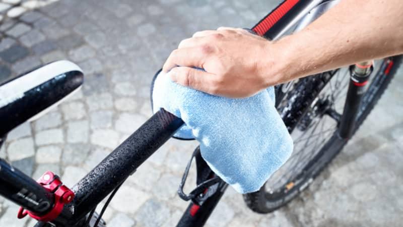 Bike abtrocknen