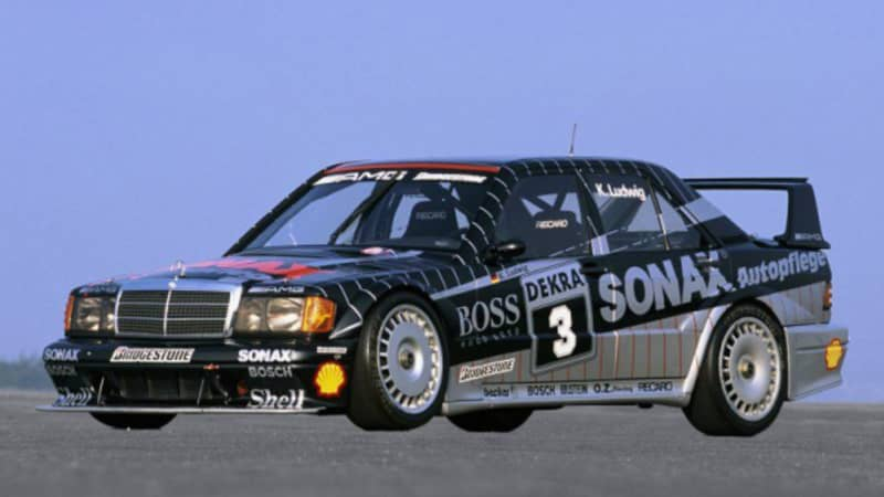 Mercedes DTM Fahrzeug 1992