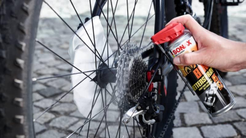 Bike Kette schmieren
