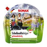 Produktabbildung SONAX ScheibenReiniger Almsommer im umweltfreundlichen Standbodenbeutel