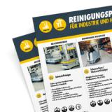 Vorschaubild Reinigungsplan Industrie und Handwerk