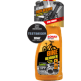 """Testsieger des Magazins """"Tour"""": Der """"Sonax Bike Reiniger"""" wurde pünktlich zum Saisonstart 2019 in seiner Reinigungsleistung und Materialverträglichkeit verbessert und sicherte sich damit erstmals den Testsieg."""