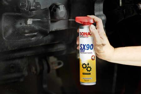Anwendungsbild SONAX SX 90 PLUS Multifunktionsöl