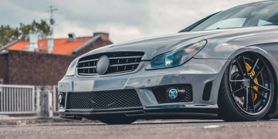 CLS 55 AMG 3/4 Front