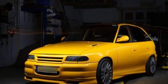 Opel Astra Werkstatt