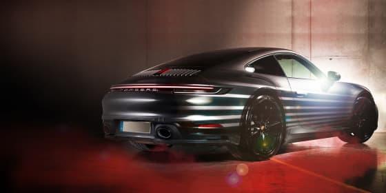 Abbildung eines Porsches
