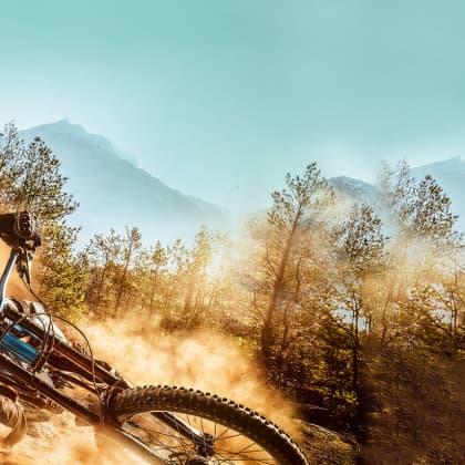bike down hill