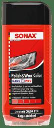 Polish & Wax Color NanoPro rot