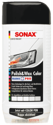 Polish & Wax Color NanoPro weiß