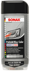 Polish & Wax Color NanoPro silber/grau