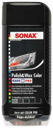Polish & Wax Color NanoPro schwarz