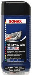 Polish & Wax Color NanoPro blau