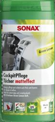 CockpitPflegeTücher Matteffect Green Lemon Box