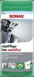 CockpitPflegeTücher matteffect Box