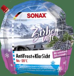 Antifrost + Klarsicht bis -20°C Zirbe