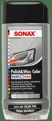 Polish & Wax Color NanoPro silber/grau