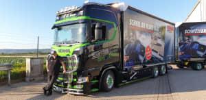 SONAX Truck mit Big Mike