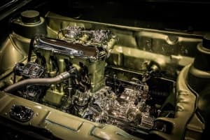 Motorraum Golf 1