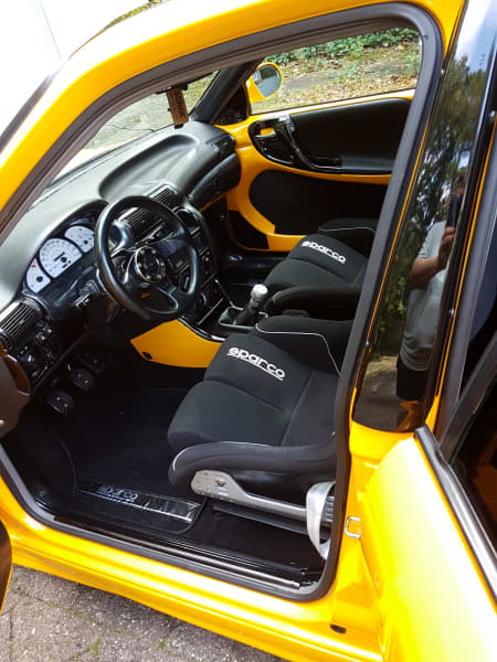 Interieur des Opel Astra