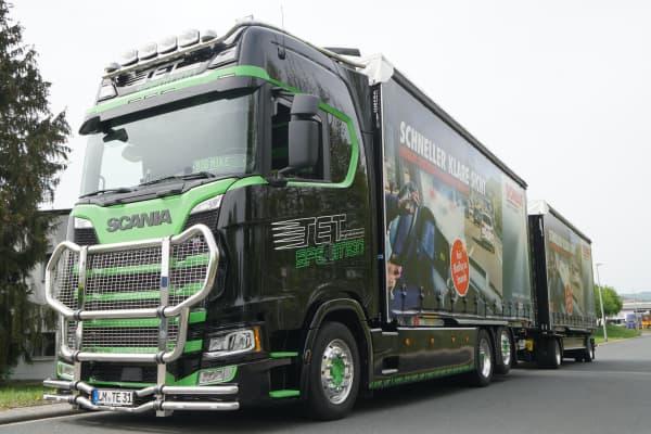 SONAX Truck seitlich