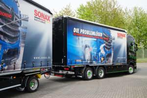 SONAX Truck Heckansicht
