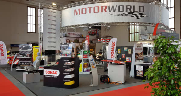 SONAX Stand Motorworld Classic 2018