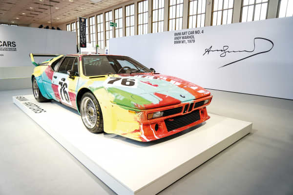 BMW M1 Andy Warhol