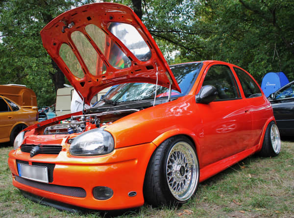 3/4-Front-Opel Corsa