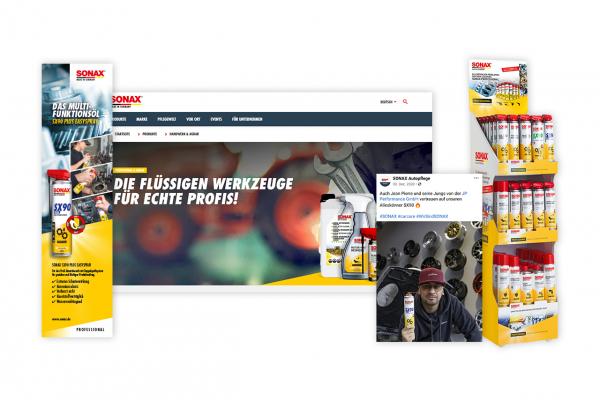 SX90 Werbematerial