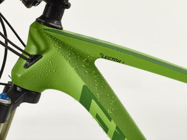 Bike Pflegewelt nasser Fahrradrahmen