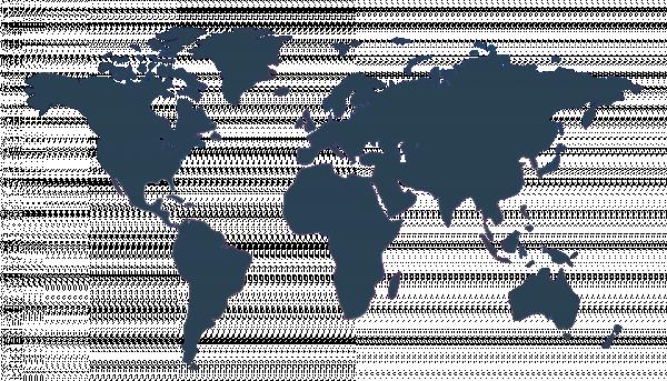 Weltkarte SONAX Dachmarken Color-Code