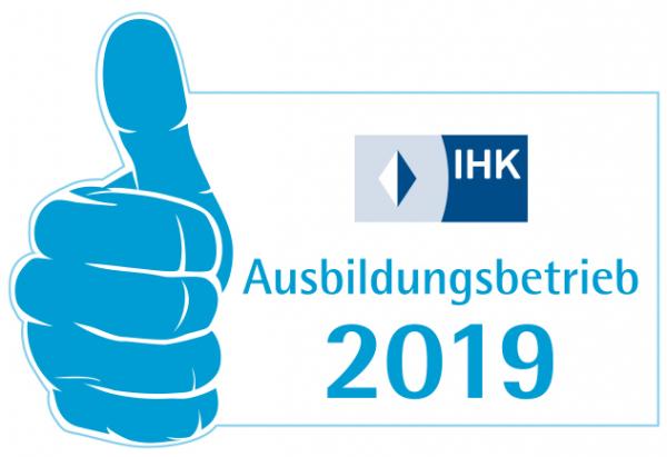 IHK Ausbildungsbetrieb Logo 2019