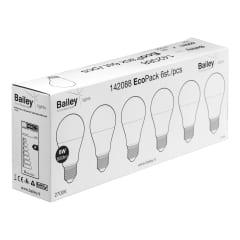 EcoPack Lot 6pcs LED A60 E27 8 photo du produit