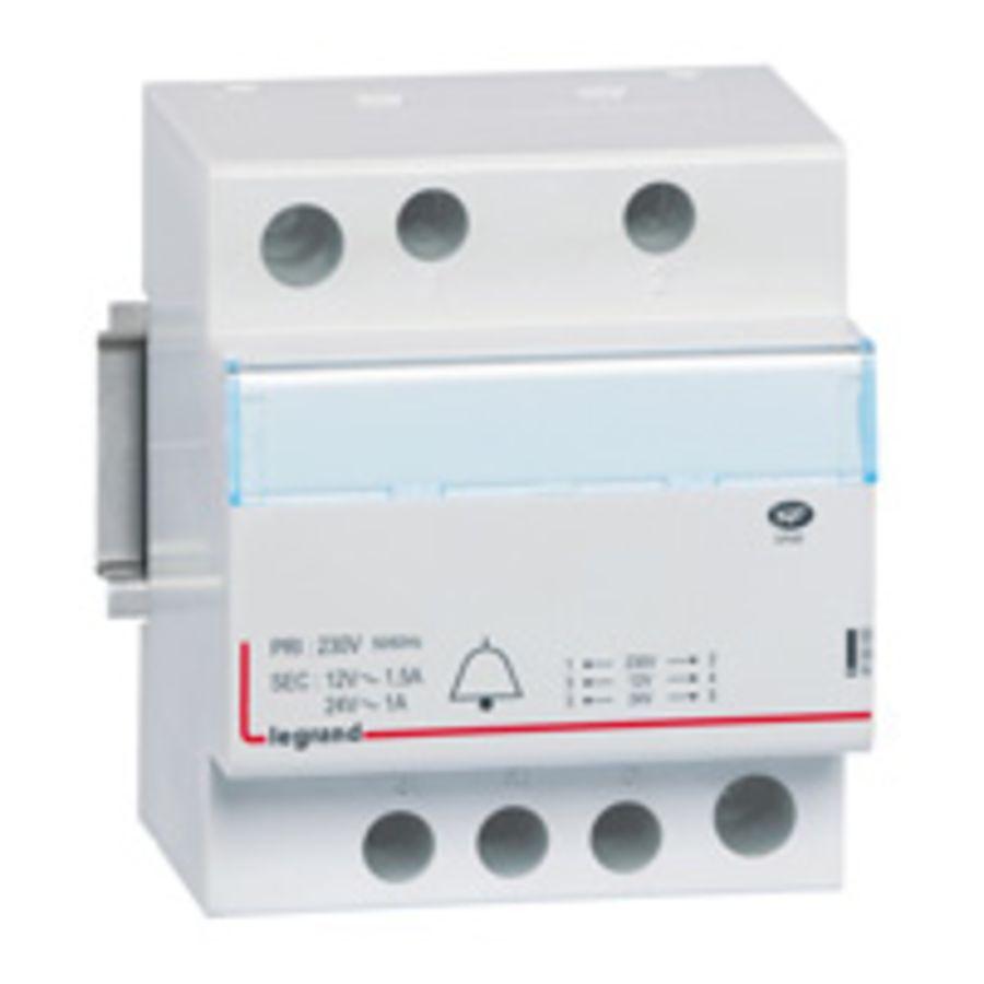 Transformateur Legrand 413093 24//12 V 1//1,5 A
