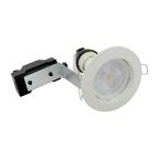Kit LED 6,5W GU10 4000K WH fix photo du produit