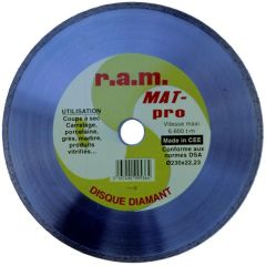 DISQUE DIAMANT J.CT MAT-PRO 12 photo du produit