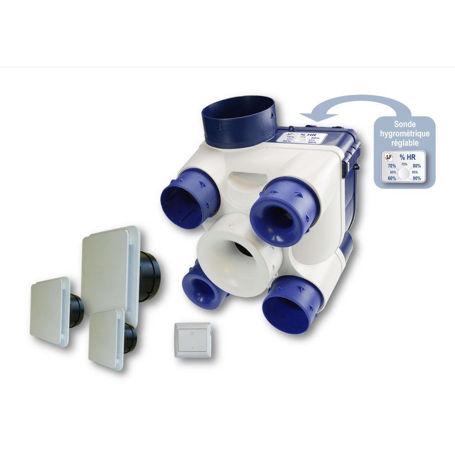Unelvent 603116 Kit Vmc Deco Det Humi