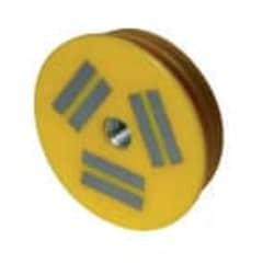 Aimant Resine D64 800N Jaune photo du produit