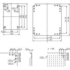 CHASSIS MICROPERF 500X400 photo du produit