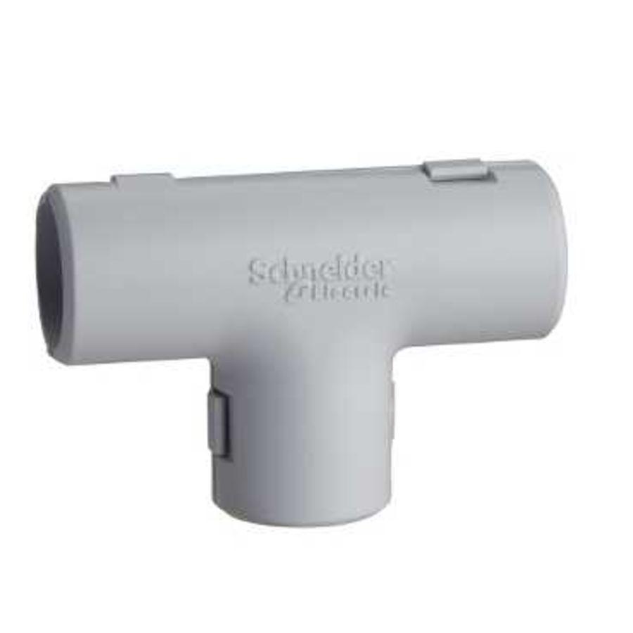 coude /équerre pour tube irl 3321 diam/ètre 20 mm gris schneider electric enn42320