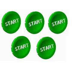 lot de 5 pastille Verte start photo du produit