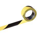 ruban chantier 100mx50mm jaune photo du produit