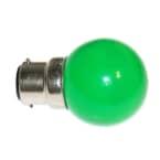 Lampe B22 LED SMD Vert D 45-47 photo du produit