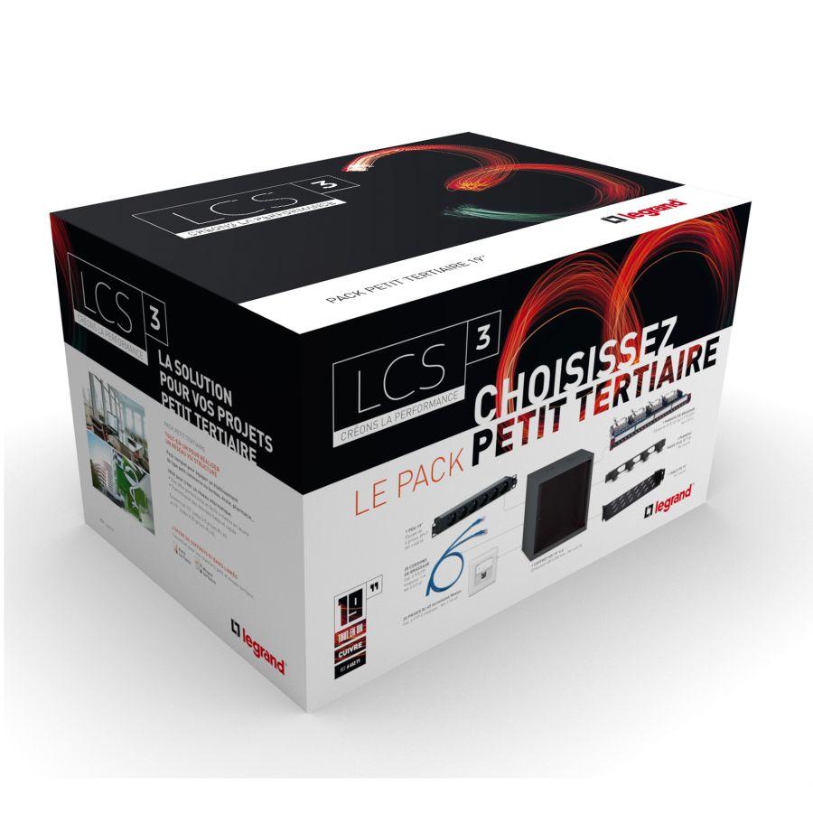 LCS3 Pack coffret 19 pouces Legrand