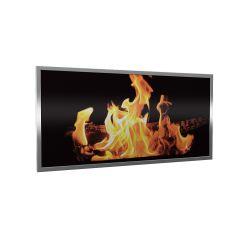 Dynabox-G Flames-Cadre argent- photo du produit