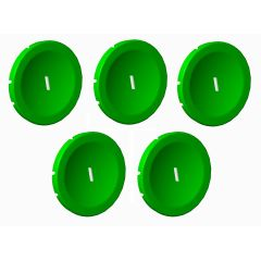 lot de 5 pastille Verte I photo du produit