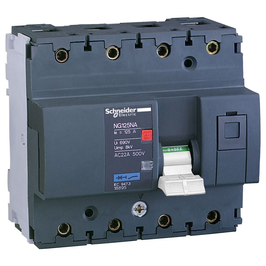 Schneider Electric - 18897 - NG125NA 4P 63A