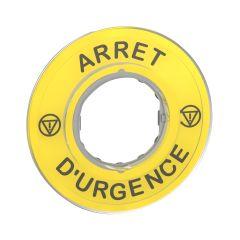 ETIQUETTE ARRET D URGENCE photo du produit