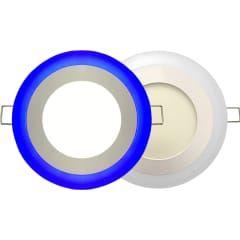 sdl bleu rond 5w double photo du produit