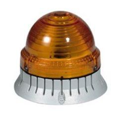 FEU CLIGNOTANT ORANGE 24V ACDC photo du produit